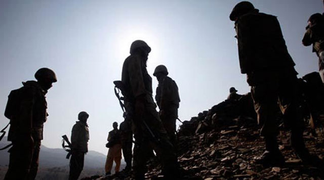 One security person, six militants killed in Hangu