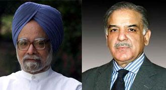 Shahbaz reaches New Delhi, discuss bilateral relations with Indian PM