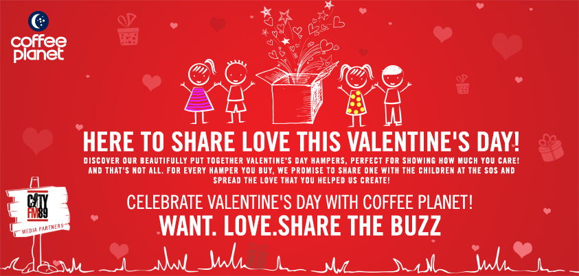 Coffee Planet: This Valentine's Day, Think of the Children