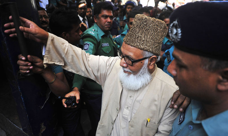 Bangladesh's JI calls strike to protest against its leader's death sentence
