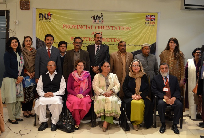 NCRP organizes orientation seminar for the voice and advocacy fund project
