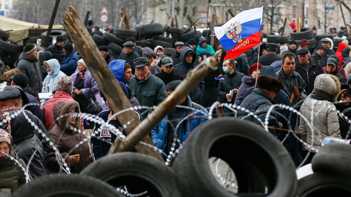 Russia calls on Ukraine not to use force against protesters