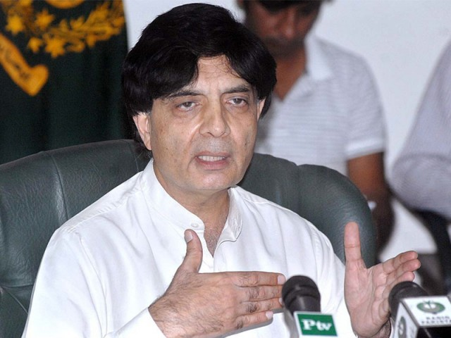 Six intelligence alerts, two Karachi specific, issued so far since November: Nisar