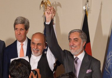 Presidential candidates of Afghan election have unanimously demanded 100 percent audit of polled votes