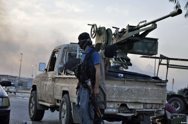 US military conducts airstrike against artillery used by ISIL militants in Iraq