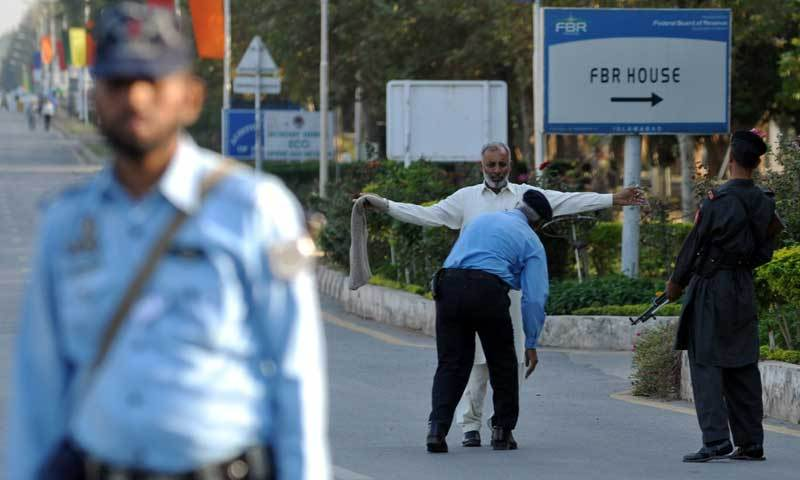 Federal govt imposes section 144 in Islamabad