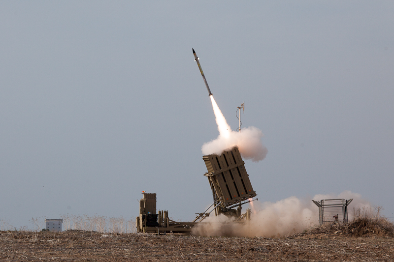 Israel's Iron Dome intercepts only 8 out of 120 rockets fired from Gaza
