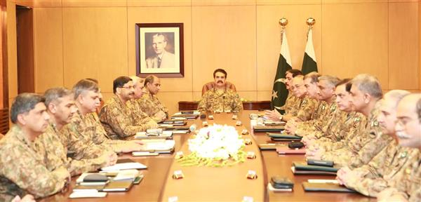 Militants won't be allowed any space across country: corps commanders