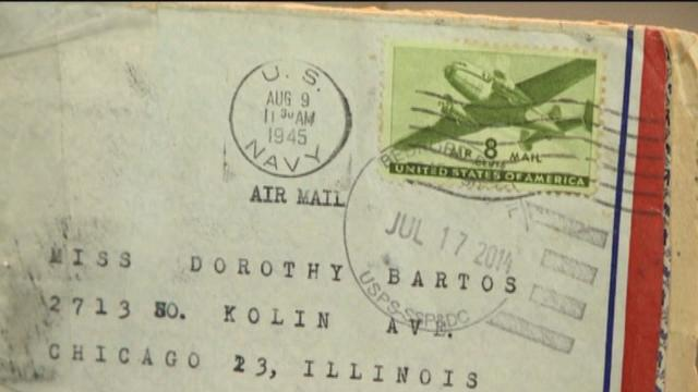 Love Letters Written In 1945 To Dorothy Bartos Carlberg