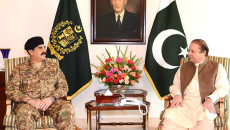 PM Nawaz, army chief discuss prevailing situation in country