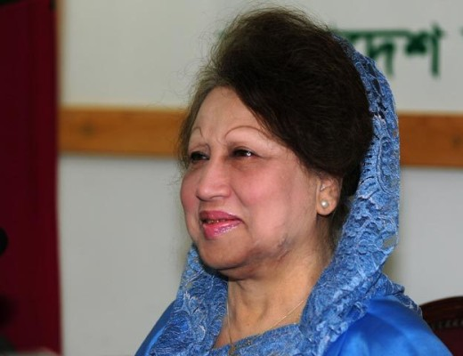 Khaleda Zia goes on trial on embezzlement charges
