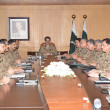Corps Commanders' Conference discusses security situation