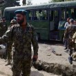 Two suicide blasts target Afghan army buses in Kabul, seven killed