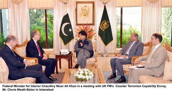 Pakistan's sacrifices not duly recognized by international community: Nisar