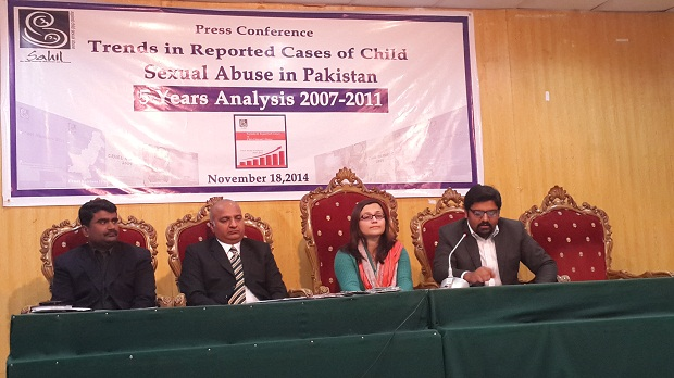 """Sahil presents its report on """"Trends in Reported Cases of Child Sexual Abuse"""""""
