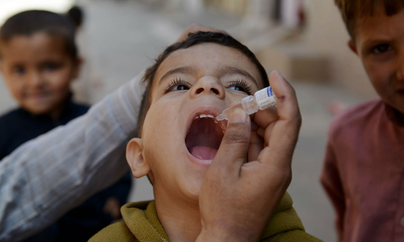 3.5 million children to be administered polio vaccine in Sindh