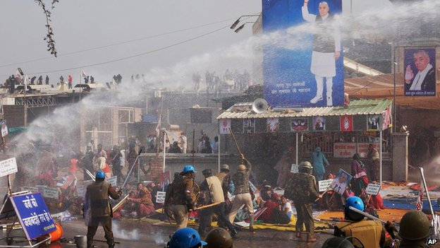 Five women, child killed as riots occur in northern India