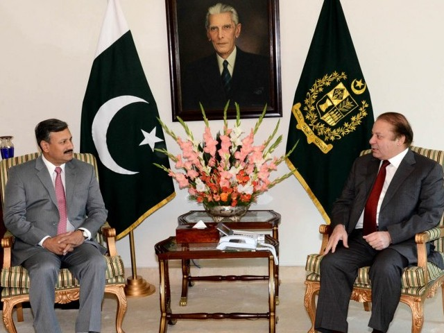DG ISI briefs PM Nawaz about security situation