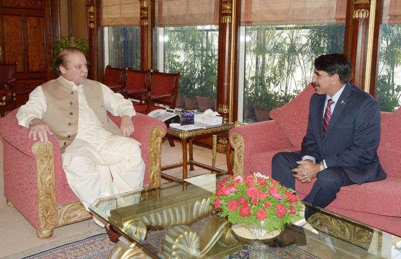 Outgoing DG ISI hold meetings with PM, President