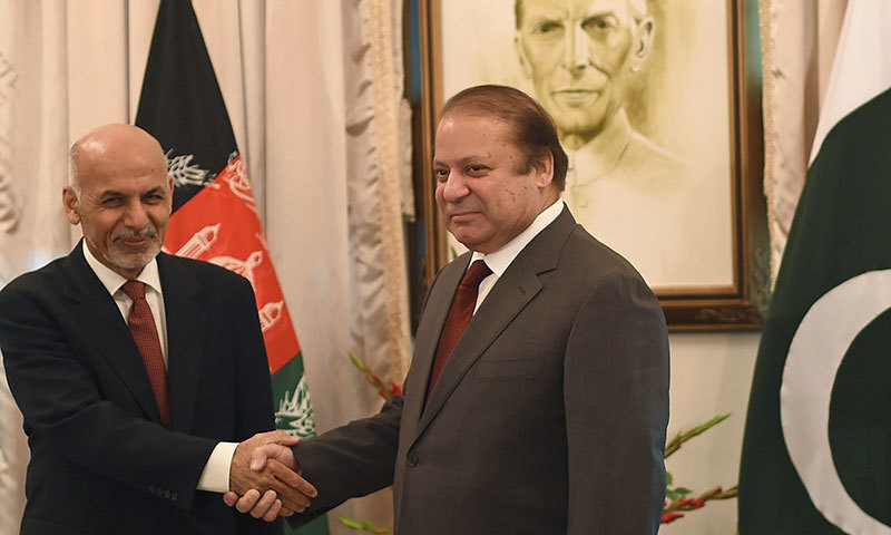 Pakistan to support Afghanistan's peaceful endeavors: PM Nawaz