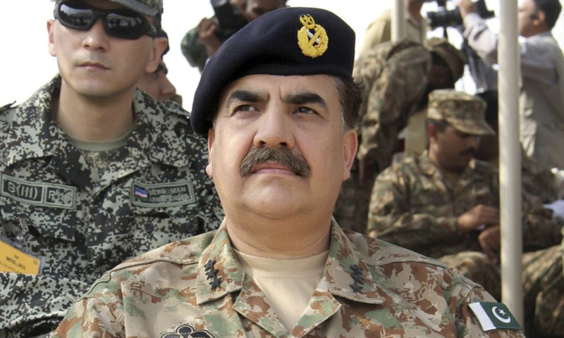 Indian ceasefire violation affecting operation against militants: COAS