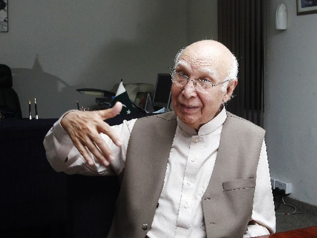 Remarks to BBC Urdu were misquoted, Sartaj tell his Afghan counterpart