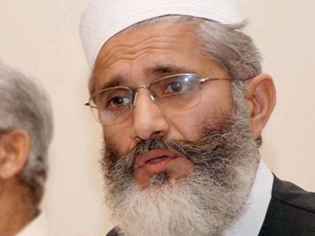 Sirajul Haq urges govt to resume dialogue process with PTI
