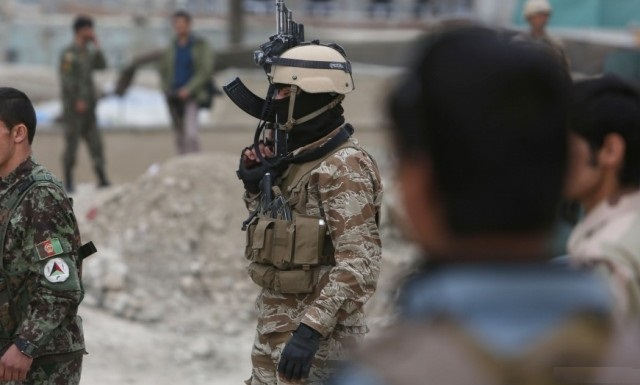 11 Afghan security personnel killed in suicide blast