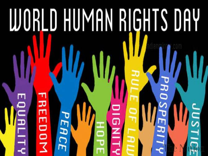 Int'l Human Rights Day being observed today