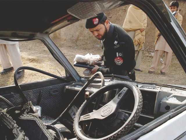 Nine including six security persons killed in terror attacks