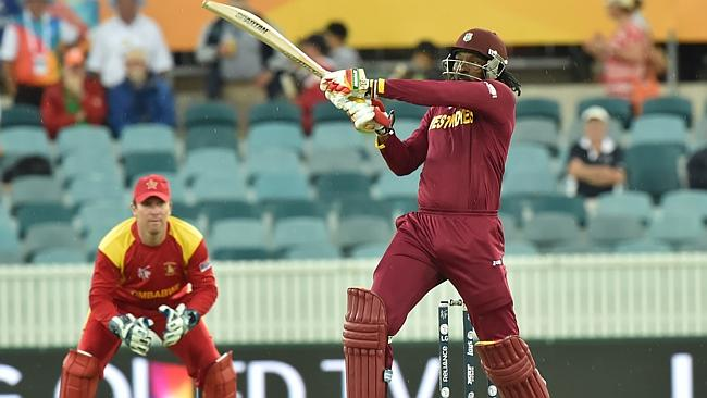 Chris Gayle hits first ever World Cup double century