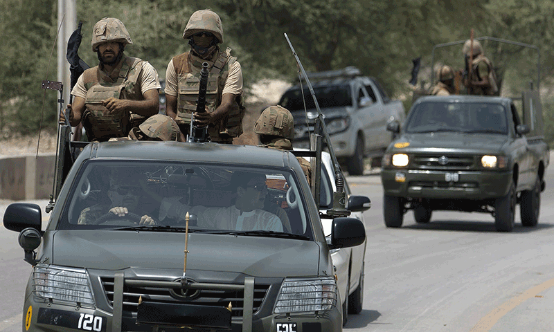 Four militants killed by security forces in Bannu