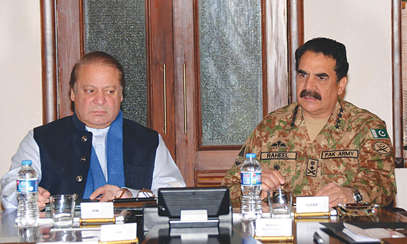 PM Nawaz, COAS in Quetta to attend apex committee meeting