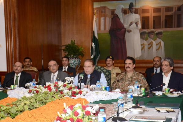 Failure in war against terrorism not the option, says PM Nawaz