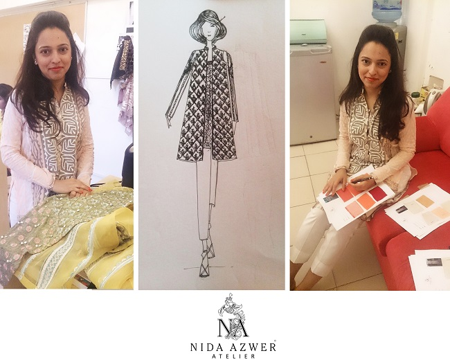 """The Nida Azwer Atelier to showcase """"The Bahaar Collection"""" at TDAP Expo 2015"""