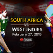 PTV Sports live cricket streaming South Africa vs West Indies world cup 2015