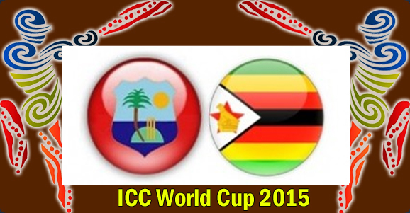 PTV Sports live cricket streaming West Indies vs Zimbabwe Cricket world cup 2015