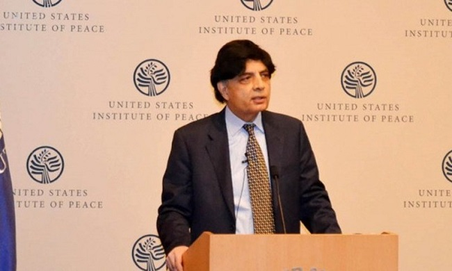 ISIS has no existence in South Asia: Chaudhry Nisar