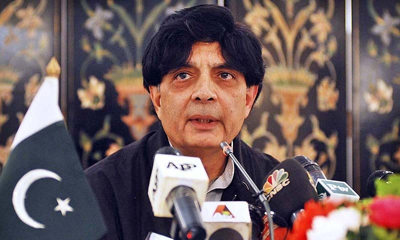 60 organizations have been banned, Nisar tells NA