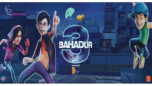 """Waadi Animations releases official trailer for animated film """"3 Bahadur"""""""