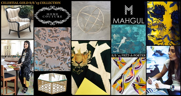 HOME COUTURE & MAHGUL set to co exhibit their S/S '15 Collections in Lahore