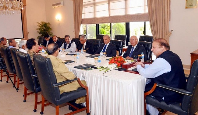 Shahbaz-led delegation briefs high-level meeting on its visit to Saudi Arabia