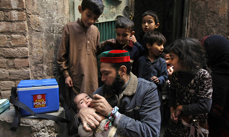 Special three-day anti-polio campaign begins in KPK