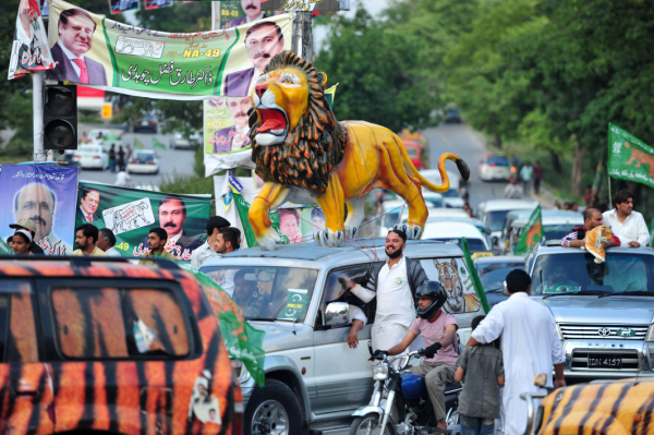 Lion is not coming, in fact it has come: Pervaiz Rasheed