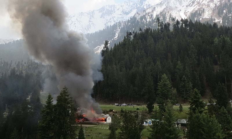 Bodies of Naltar crash victims brought to Islamabad