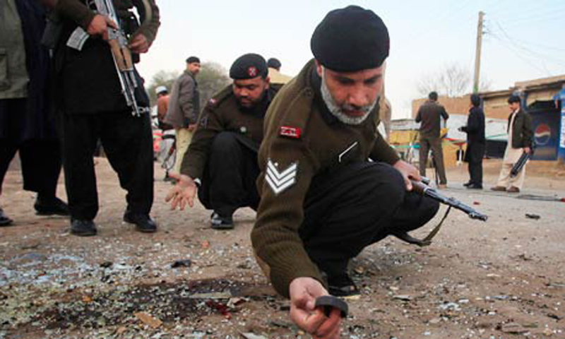 Three security personal killed as IED hits vehicle in N Waziristan