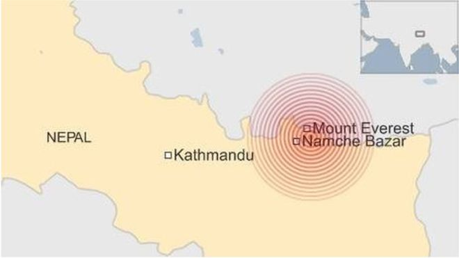 Nepal once against rocked by 7.4 magnitude earthquake