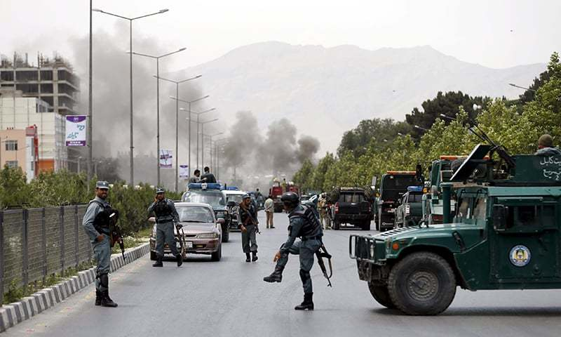 Afghan parliament attacked by Taliban, several casualties