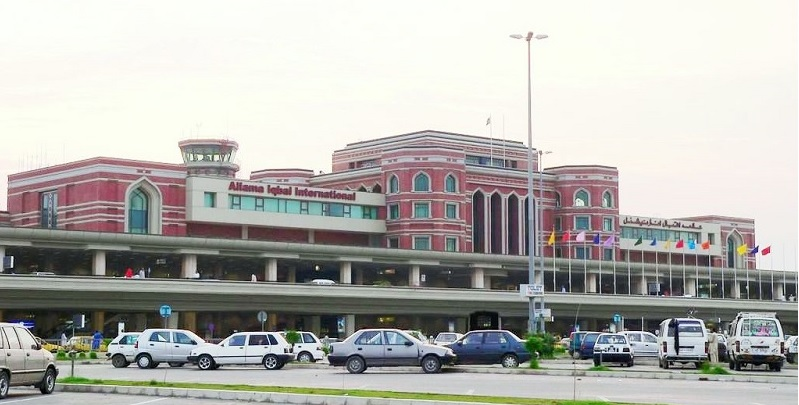 Modern security system installed at Allama Iqbal International Airport