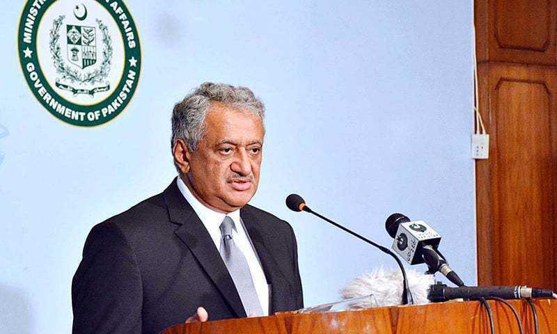 Pakistan asks India not to hurl accusations without concrete evidences